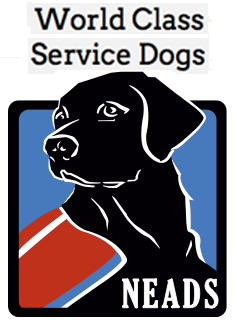 Neads World Class Service Dogs logo